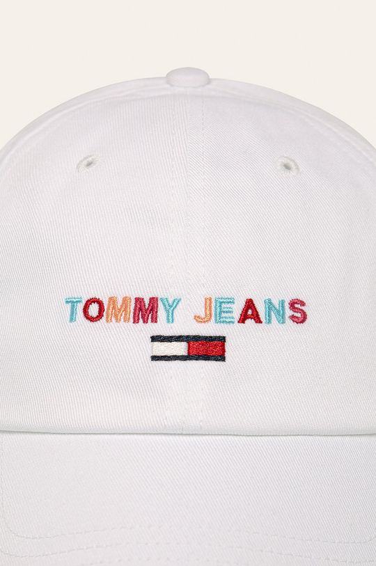 Tommy Jeans - Čiapka biela