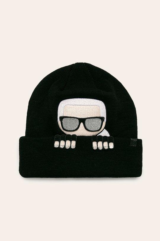 čierna Karl Lagerfeld - Čiapka Dámsky