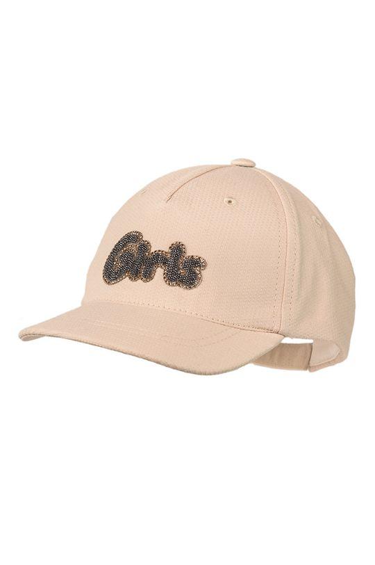 бежов Jamiks - Детска шапка Момиче