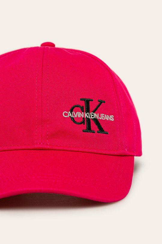 Calvin Klein Jeans – Sapca copii roz ascutit