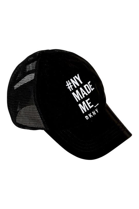 čierna Dkny - Detská čiapka Dievčenský