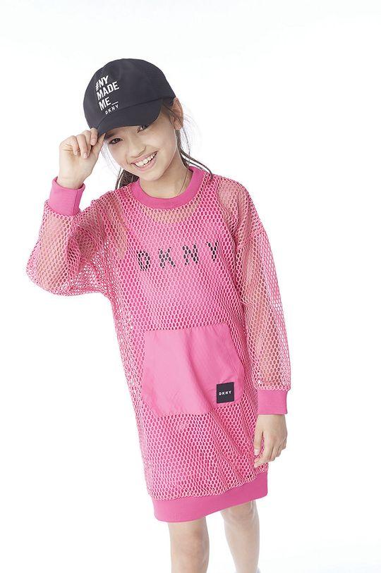 Dkny - Detská čiapka čierna