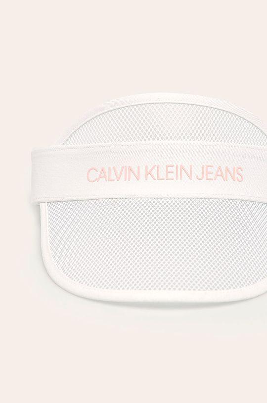 Calvin Klein Jeans - Cozoroc copii alb