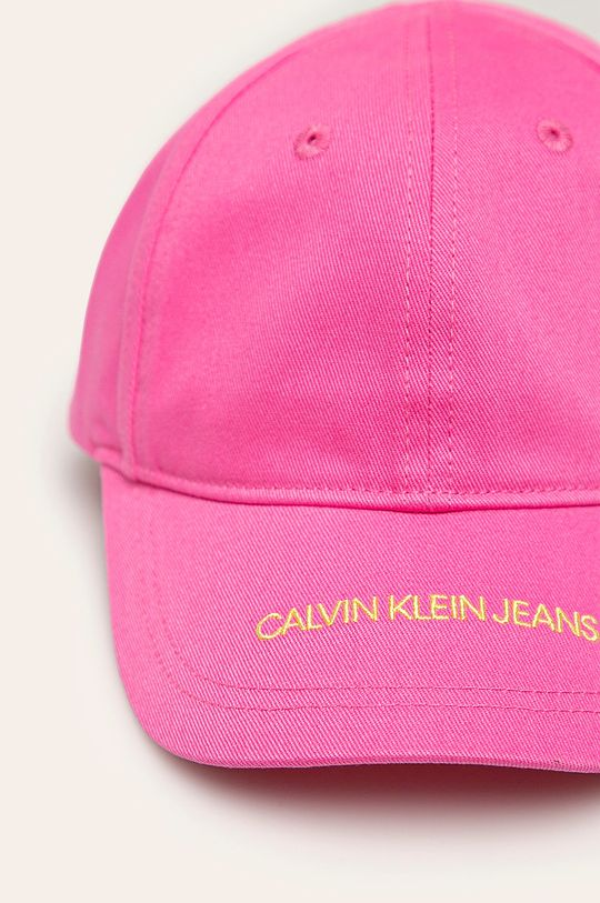 Calvin Klein Jeans – Sapca roz ascutit