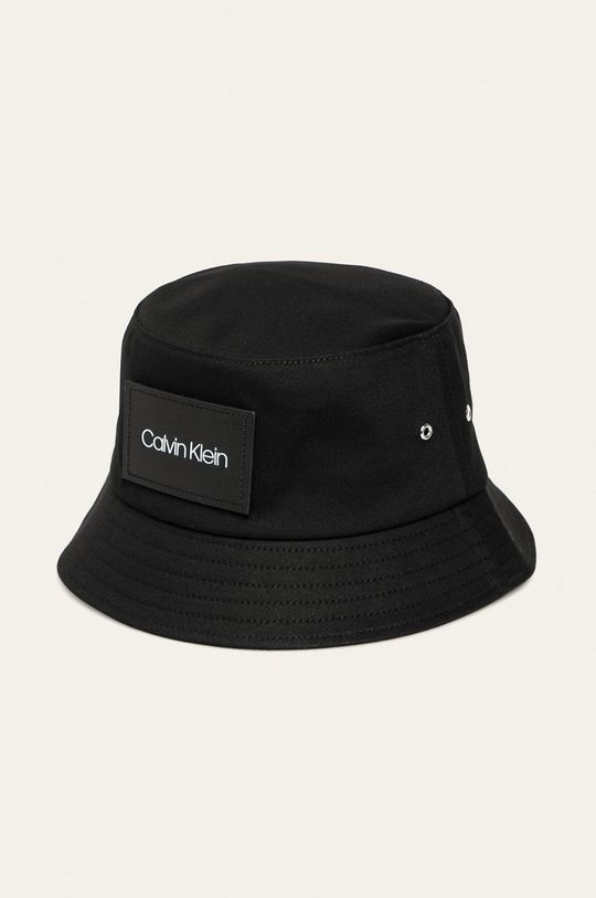Calvin Klein - Klobúk  Základná látka: 100% Bavlna Prvky: 100% Prírodná koža