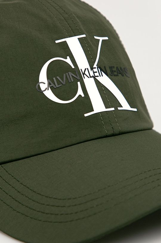 Calvin Klein Jeans - Čiapka zelená