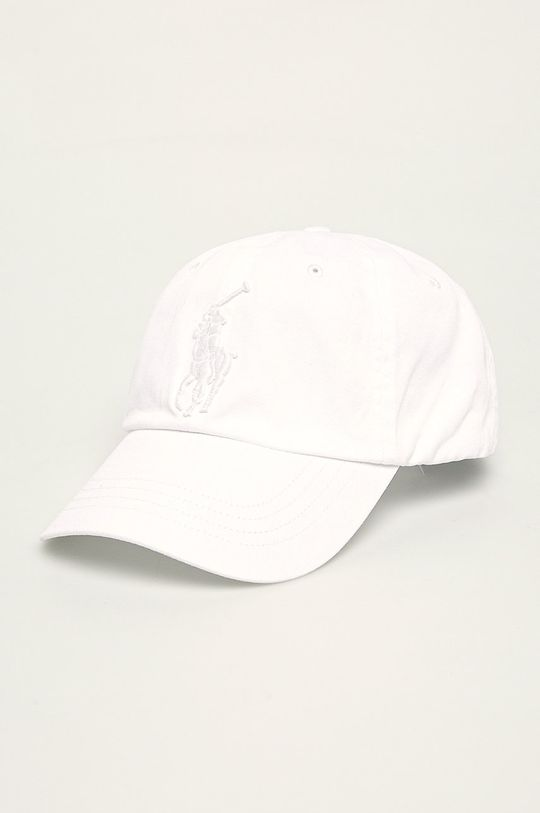 bílá Polo Ralph Lauren - Čepice Pánský