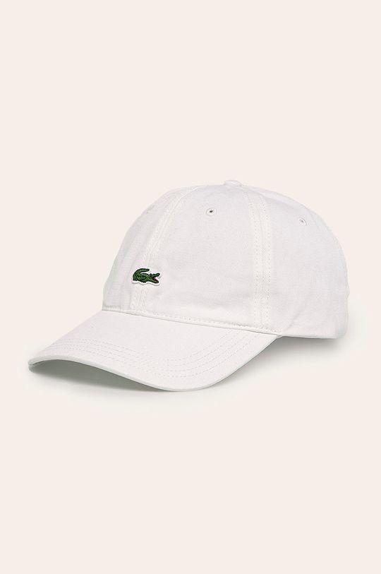 biały Lacoste - Czapka Męski