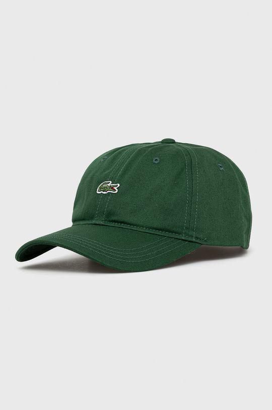ciemny zielony Lacoste - Czapka Męski