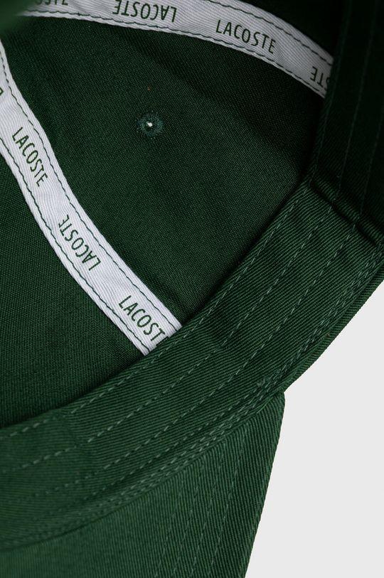 ciemny zielony Lacoste - Czapka
