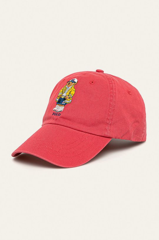 červená Polo Ralph Lauren - Čepice Pánský
