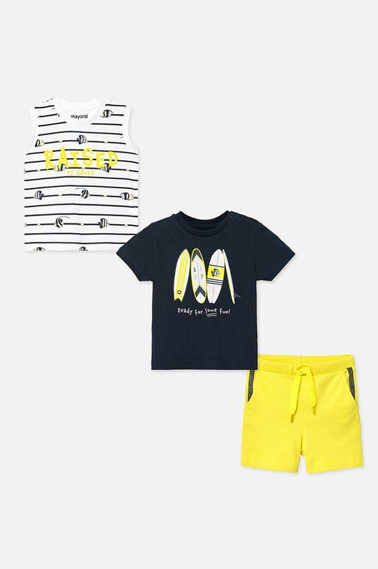 тъмносин Mayoral - Детски комплект 68-98 cm Момче
