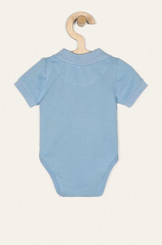 Guess Jeans - Body pre bábätká 55-76 cm fialová
