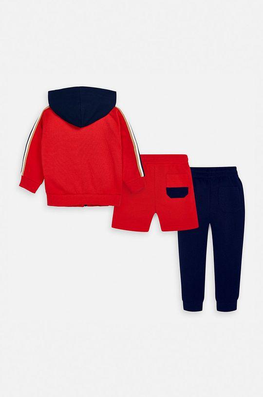 Mayoral - Detská tepláková súprava 92-134 cm sýtočervená