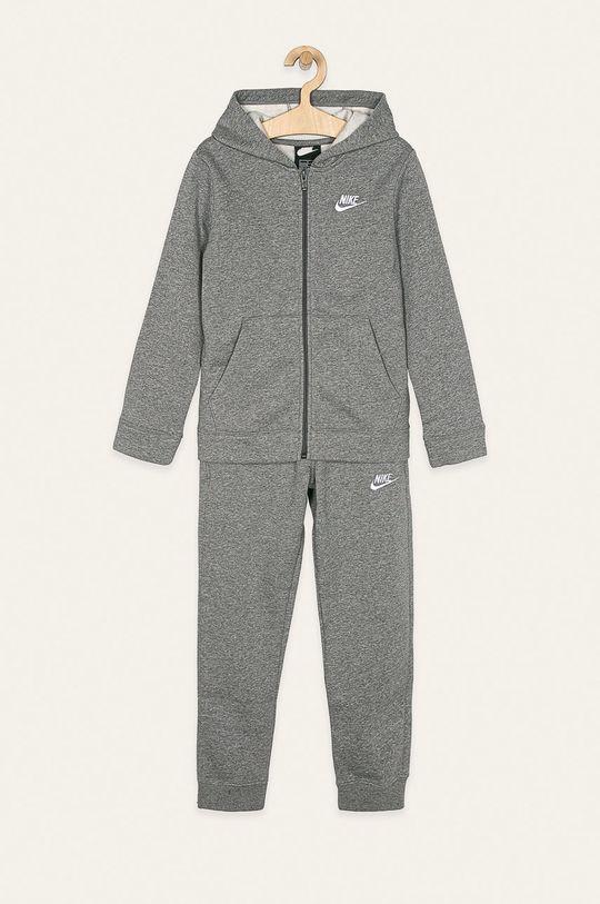 szary Nike Kids - Dres dziecięcy 122-170 cm Chłopięcy