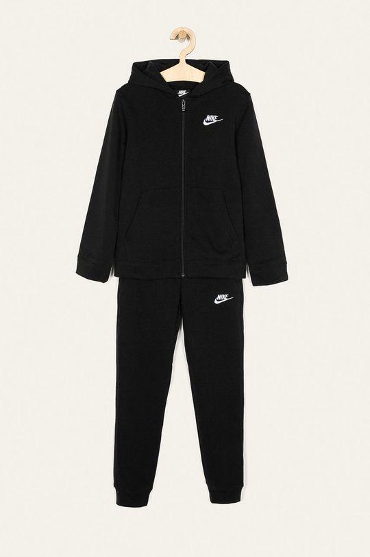 czarny Nike Kids - Dres dziecięcy 122-170 cm Chłopięcy