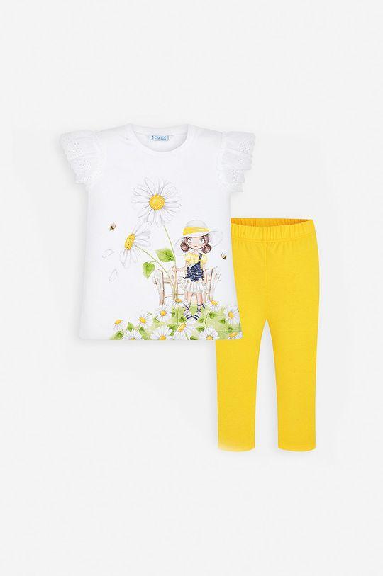 Mayoral - Compleu copii 92-134 cm galben