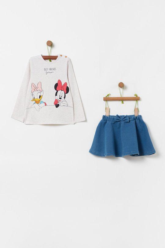 svetlosivá OVS - Detská súprava X Disney 80-98 cm Dievčenský
