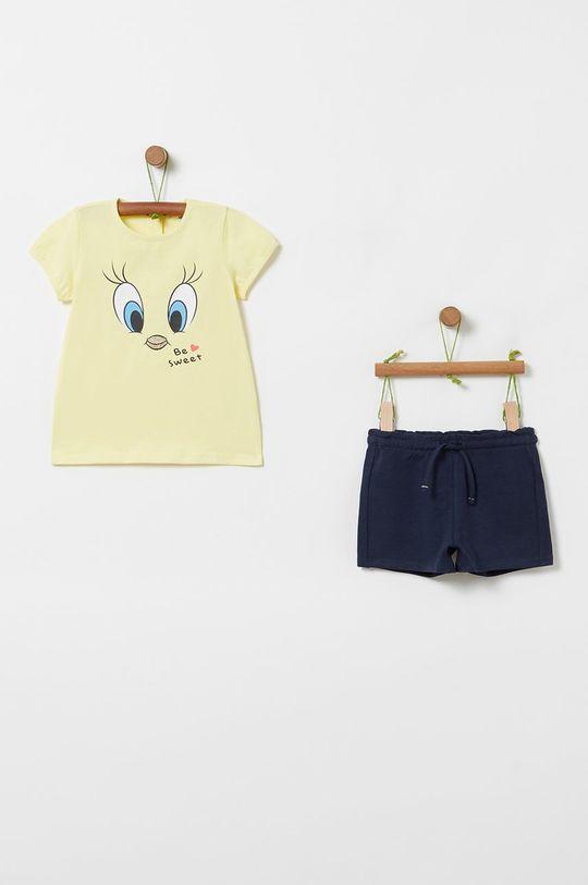 galben OVS - Compleu copii x Looney Tunes 80-98 cm De fete
