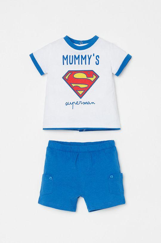 alb OVS - Compleu copii x Superman 56-68 cm De fete