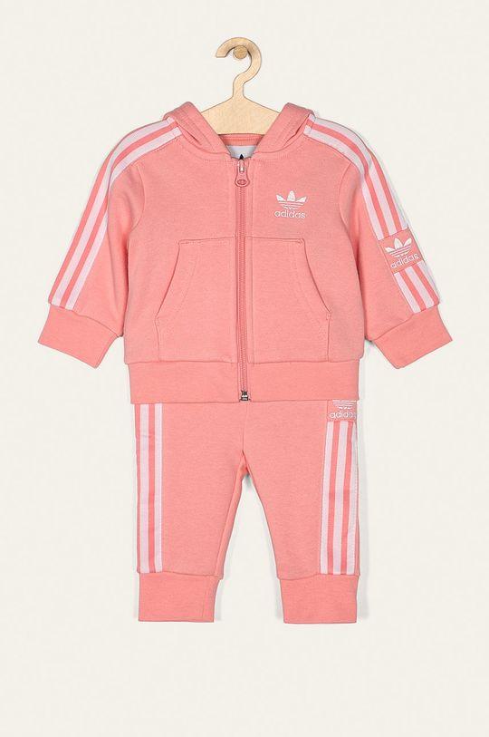 ružová adidas Originals - Detská tepláková súprava 62-104 cm Detský
