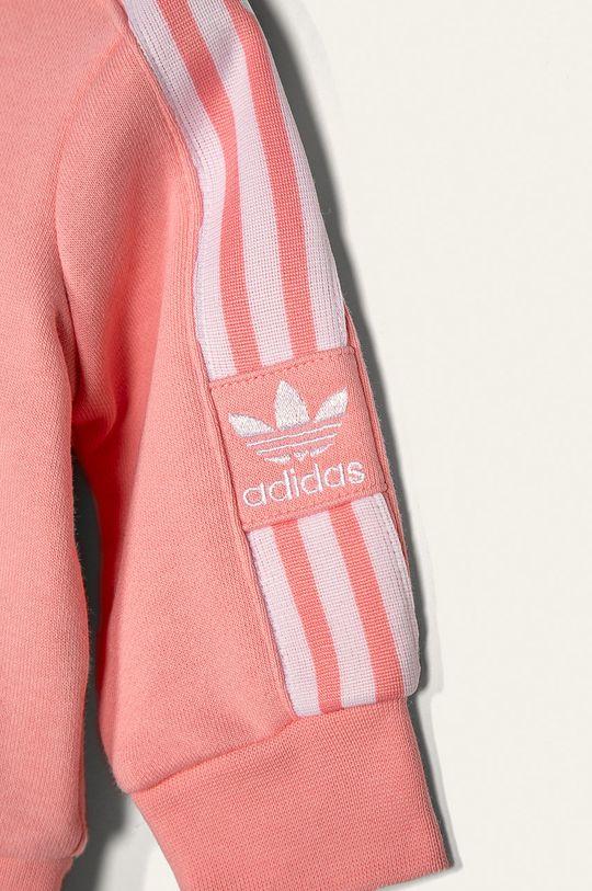 adidas Originals - Detská tepláková súprava 62-104 cm  Základná látka: 70% Bavlna, 30% Polyester Elastická manžeta: 95% Bavlna, 5% Elastan