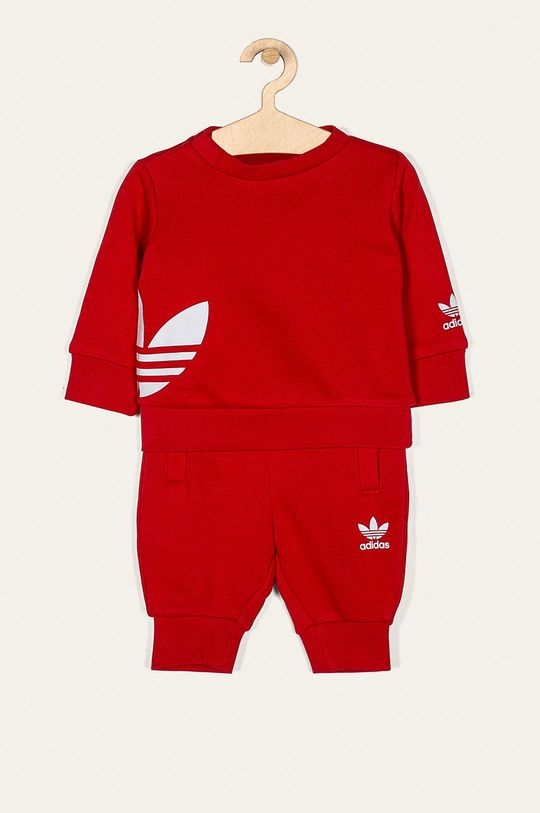 červená adidas Originals - Dětská tepláková souprava 62-104 cm Dětský