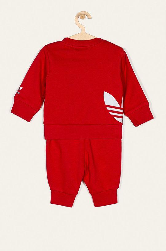 adidas Originals - Dětská tepláková souprava 62-104 cm červená