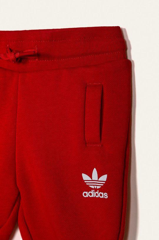 červená adidas Originals - Dětská tepláková souprava 62-104 cm