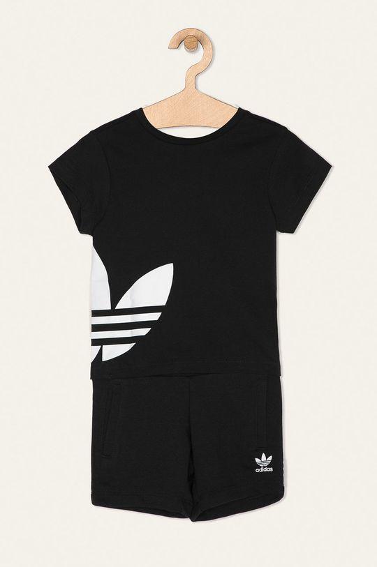 čierna adidas Originals - Detská súprava 104-128 cm Detský