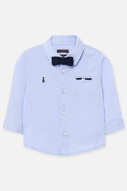 svetlomodrá Mayoral - Detská košeľa 68-98 cm Chlapčenský