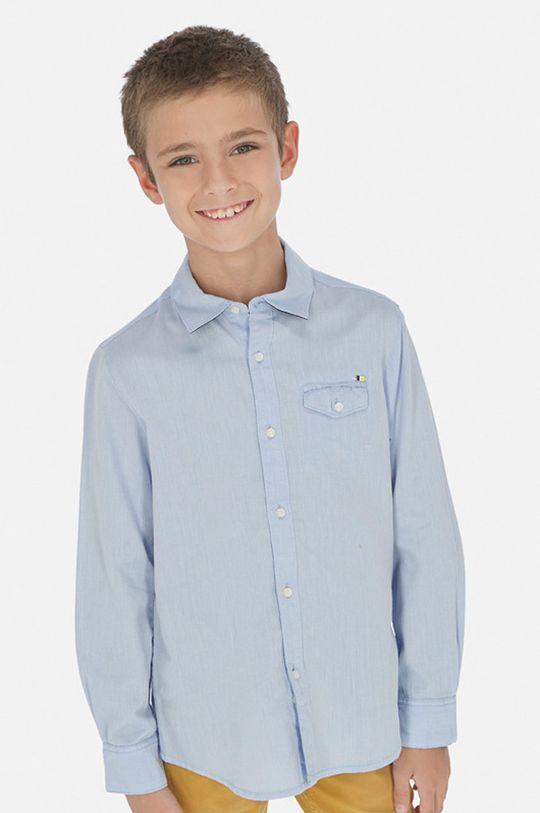 světle modrá Mayoral - Dětská košile 128-172 cm Chlapecký