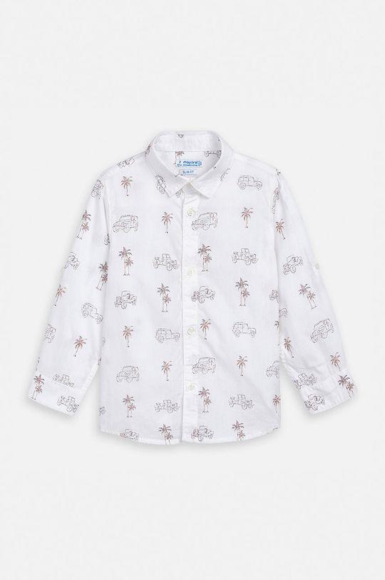 Mayoral - Koszula dziecięca 92-134 cm biały