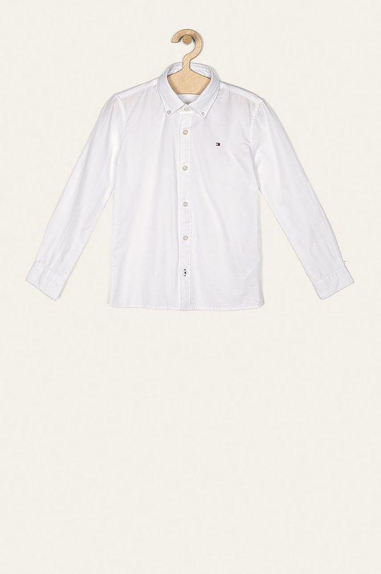 biela Tommy Hilfiger - Detská košeľa 128-176 cm Chlapčenský