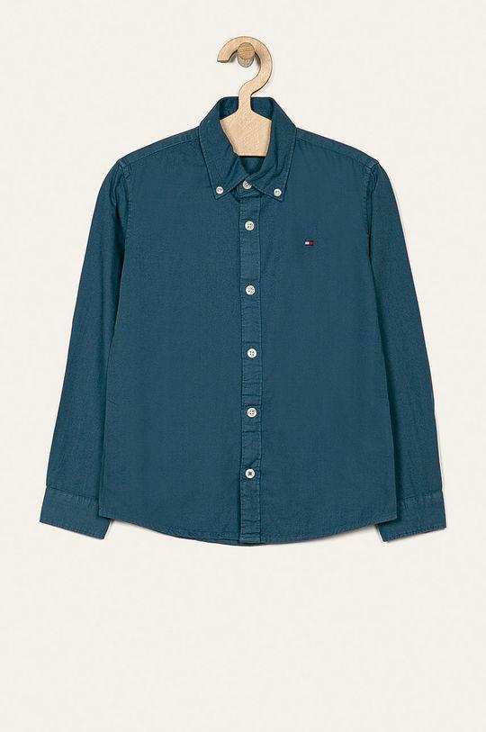fialová Tommy Hilfiger - Detská košeľa 128-176 cm Chlapčenský