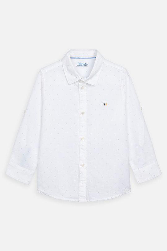 Mayoral - Detská košeľa 92-134 cm biela