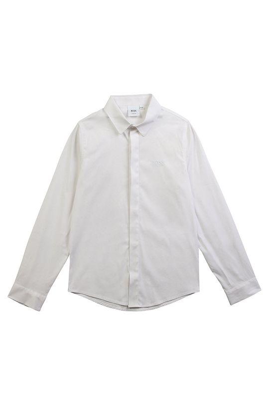 bílá Boss - Dětská košile 116-152 cm Chlapecký