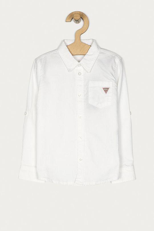alb Guess Jeans - Camasa copii 98-122 cm De băieți