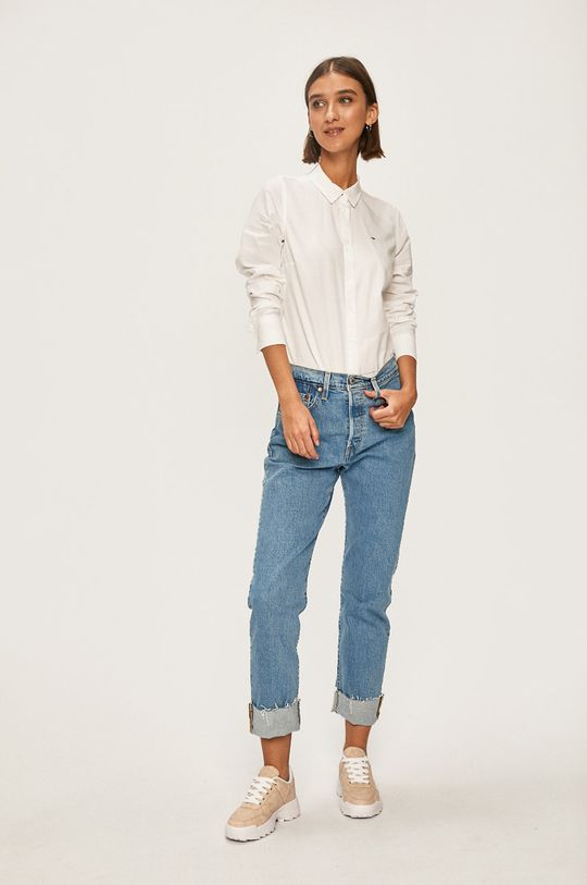 Tommy Jeans - Camasa alb