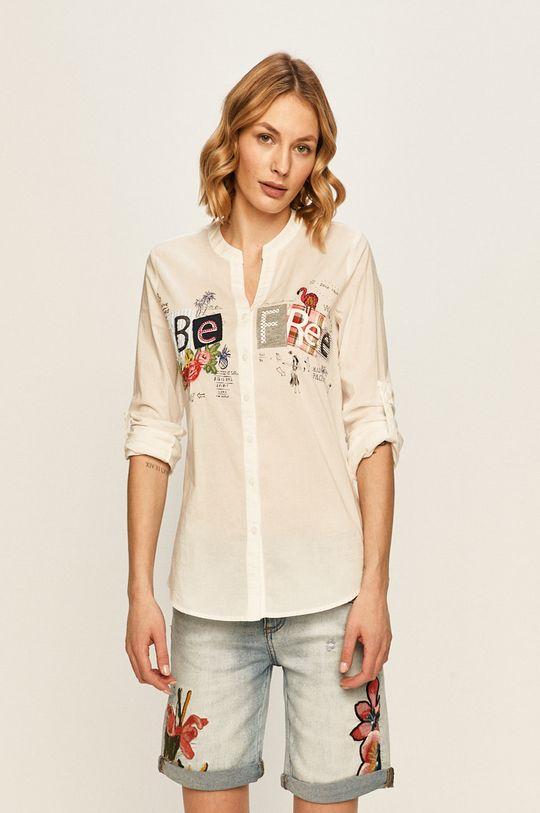 biały Desigual - Koszula Damski