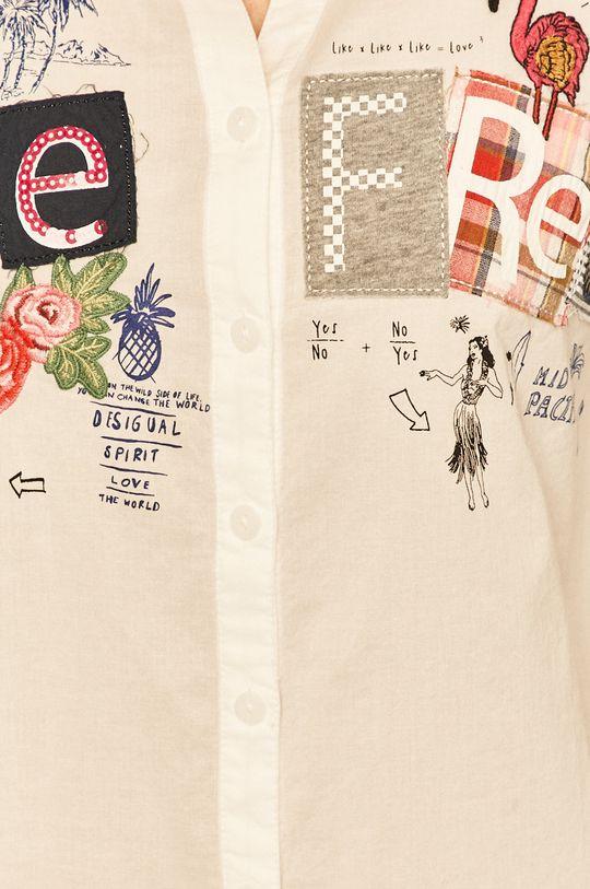 Desigual - Koszula biały