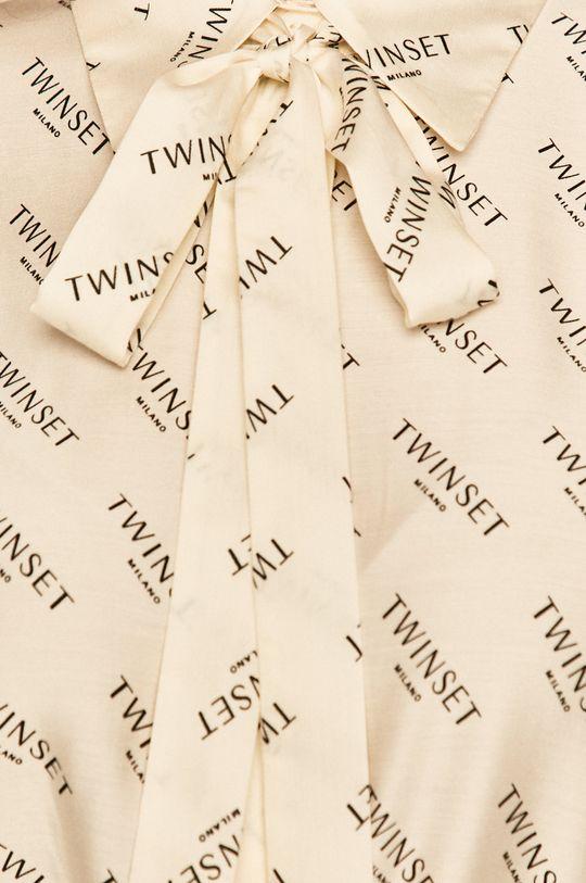Twinset - Košeľa krémová