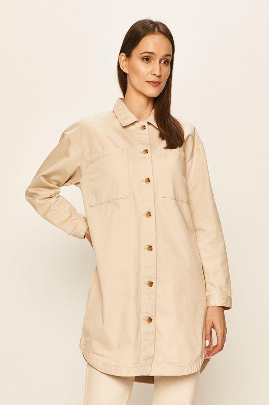 beżowy Vero Moda - Koszula Damski