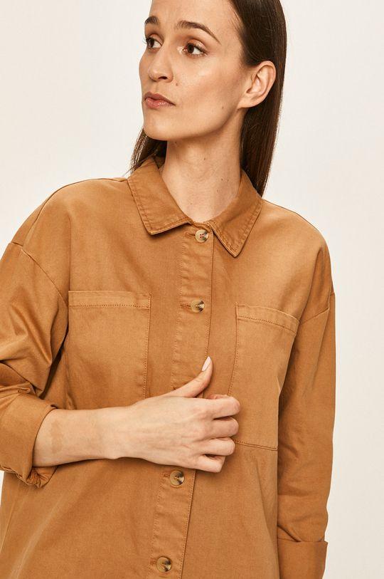 brązowy Vero Moda - Koszula