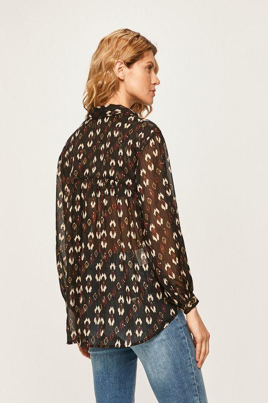 Pepe Jeans - Koszula GISELA Materiał zasadniczy: 97 % Poliester, 3 % Włókno metaliczne, Wstawki: 100 % Poliester