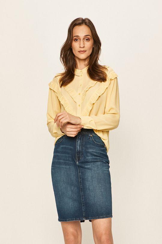 żółty Vero Moda - Koszula Damski