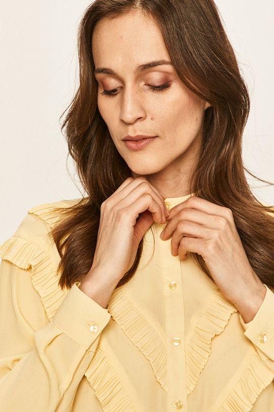 żółty Vero Moda - Koszula