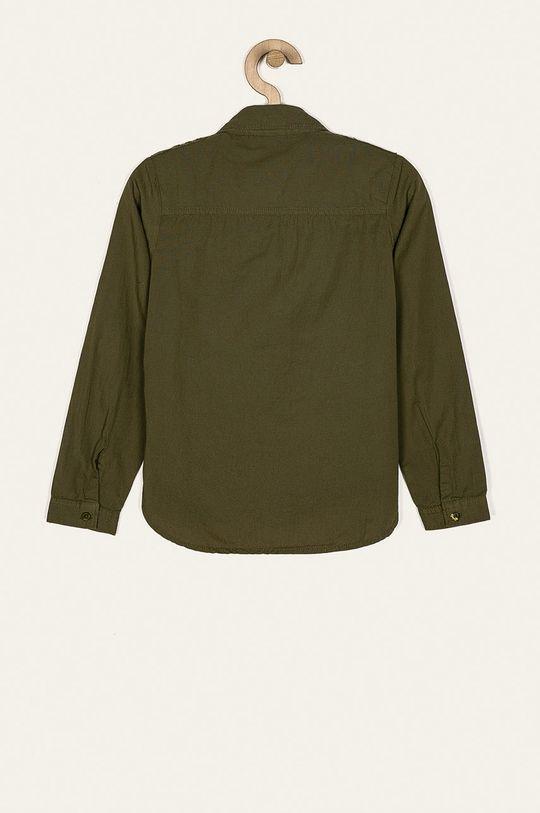 Name it - Detská košeľa 116-164 cm olivová
