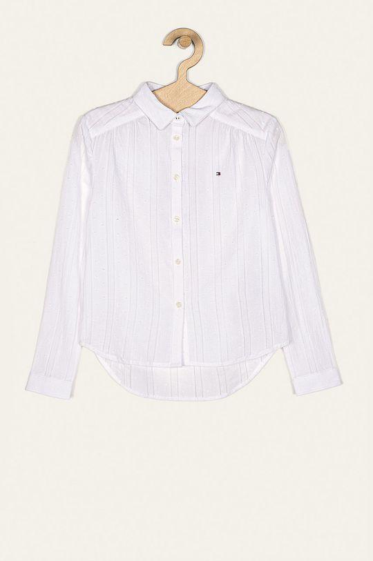 biela Tommy Hilfiger - Detská košeľa 128-176 cm Dievčenský