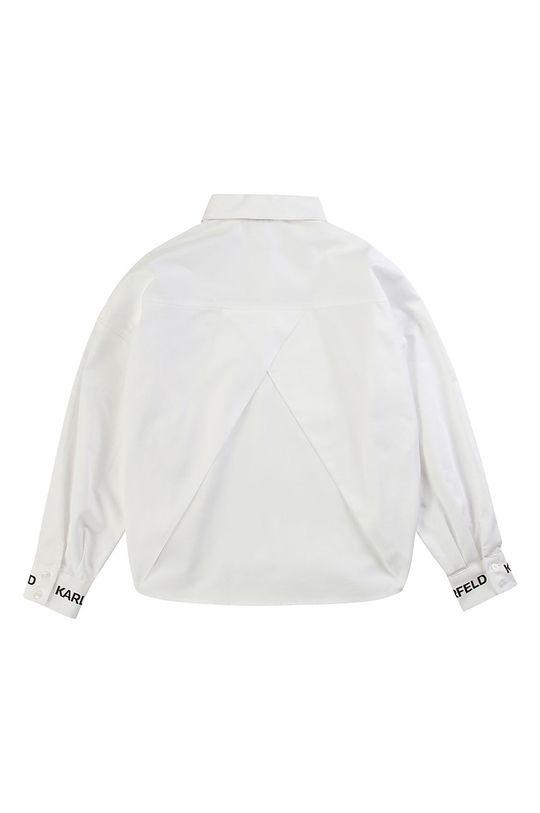 Karl Lagerfeld - Koszula dziecięca 114-150 cm biały